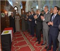 محافظ المنيا يشارك في صلاة جنازة مدير أمن أسيوط