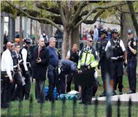 وفاة رجل أضرم النار في نفسه قرب البيت الأبيض
