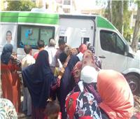 القوافل الطبية العلاجية المجانية تعالج1500 مريض بقرية فيشا بالمحمودية