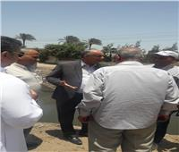 رئيس مصلحة الري يتفقد حالة الترع بمحافظة الشرقية