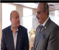فيديو| وزير سياحة أونتاريو يزور المتحف المصري في «ميسيساجا»