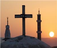رمضان محبة ... الأقباط يرفعون «شعار الدين لله والخير للجميع»