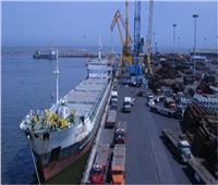 28 سفينة إجمالي الحركة بموانئ بورسعيد