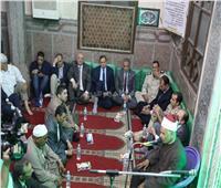 محافظ سوهاج يشهد احتفال «الأوقاف» بليلة القدر في مسجد العارف بالله