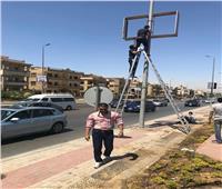 حملات مكبرة لإزالة التعديات والإشغالات بالقاهرة الجديدة