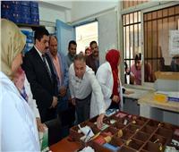 محافظ القليوبية يقوم بجولة مفاجئة بمستشفي رمد بنها