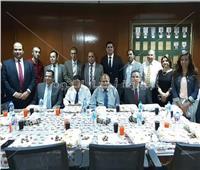 رئيس المحاكم الإدارية والتأديبية يقيم حفل إفطار للعاملين