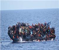 غرق مهاجرين اثنين وفقد 25 في انقلاب قارب قبالة ساحل ليبيا