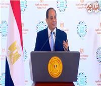 فيديو| السيسي: سنحتفل بعيد الفطر المبارك مع أسر شهداء ومصابي الجيش والشرطة
