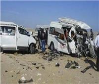 إصابة 6 أشخاص في حادث انقلاب سيارة بالطريق الإقليمي