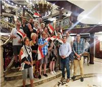 49 سائحًا يقومون بجولة أثرية بمحافظة سوهاج