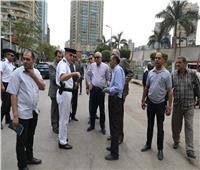 صور| محافظ الجيزة يتفقد ساحات صلاة العيد بـ 8 أحياء