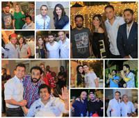 صور  فنانون ورياضيون وإعلاميون في حفل إفطار المنتج أحمد أيوب