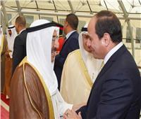 أمير الكويت يهنئ الرئيس السيسي بعيد الفطر المبارك