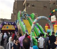 صور| الألعاب بالمجان للأطفال بمدينة نصر