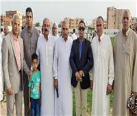 محافظ شمال سيناء يؤدي صلاة العيد بملعب أبي صقل