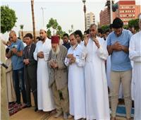 عشرات الآلاف في السويس يؤدون صلاة العيد بساحة الخالدين