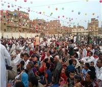 مئات الآلاف يؤدون صلاة العيد في 167 ساحة بالفيوم
