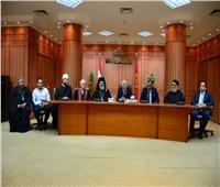 محافظ بورسعيد يستقبل المهنئين بعيد الفطر من الأجهزة التنفيذية والشعبية والدينية