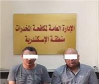 ضبط 64 ألف قرص مخدر فى الإسكندرية