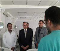«شوشة» يشيد بمستوى الرعاية الطبية بمستشفى العريش
