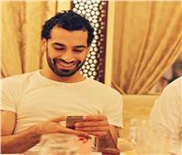 صورة| تهنئة «غريبة» بالعيد من محمد صلاح