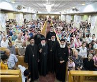 الأنبا باخوم يشارك في اللقاء السنوي لطلبة الثانوية العامة بمطرانية سوهاج