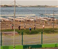 صور| إقبال على شواطئ وحدائق الإسماعيلية للاحتفال بعيد الفطر