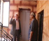 محافظ جنوب سيناء يتفقد أعمال التطوير بالمركز الثقافي الإسلامي بشرم الشيخ