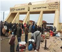 عودة 180 مصريًا من ليبيا ووصول 10 شاحنات عبر منفذ السلوم