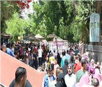 45 ألف زائر في حديقة الحيوان ثالث أيام العيد