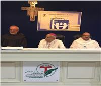 مطران اللاتين بمصر يزور المجمع الإقليمي للرهبان الفرنسيسكان