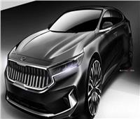 شاهد| اللقطات الأولي لسيارة كيا الجيل الثالث  طراز«كادزينا»