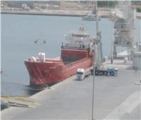 ميناء سفاجا يستقبل سفينة خدمات بترولية لشحن معدات ومواسير