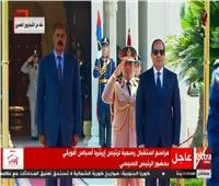 الرئيس السيسي يستقبل رئيس إريتريا بقصر الاتحادية