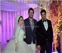 صور| بهاء سلطان وسامو زين أبرز حضور زفاف شقيق الملحن معتز أمين