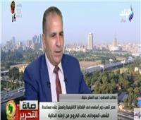 فيديو| حتيتة: مصر تلعبا دورا أساسيا في القضايا الإقليمية بأفريقيا