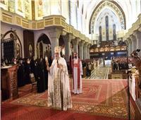 البابا تواضروس يترأس قداس تجليس أسقف جنوب إفريقيا وسيامة 4 أساقفة جدد