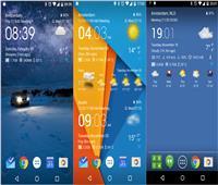 فيديو وصور| 5 تطبيقات هامة لمعرفة حالة الطقس.. تعرف عليها