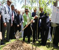 وزيرة البيئة تزور الأكاديمية البحرية بالإسكندرية