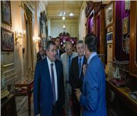 صور.. وفد برلماني يزور قصر عابدين لدعم السياحة المصرية
