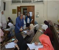 المحرصاوي يتابع سير الامتحانات بكليتي العلوم والتجارة بنات الأزهر بالقاهرة