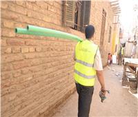 الأورمان: تعريش 190 منزلا وتوصيل 2000 وصلة مياه في قرى ومراكز المنيا