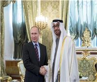 ولي عهد أبوظبي يبحث قضايا إقليمية ودولية مع الرئيس الروسي بوتين