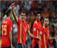 شاهد  إسبانيا تقسو على السويد بثلاثية في تصفيات أمم أوروبا