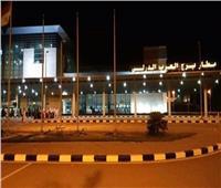 إحباط محاولة تهريب هواتف محمولة ونقد أجنبي بمطار برج العرب