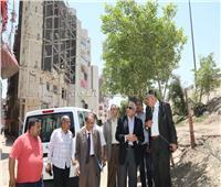 محافظ الجيزة يوقف بناء 4 عقارات تحت الانشاء ببولاق الدكرور