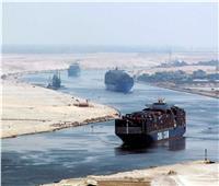 عبور 53 سفينة المجرى الملاحي لقناة السويس بحمولات 5.3 مليون طن