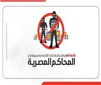 انفوجراف| ننشر قائمة العار واعتداءاتها على الأكمنة ومصيرها في المحاكم المصرية