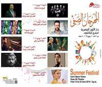 انطلاق مهرجان الأوبرا الصيفى بـ «مسار إجباري»